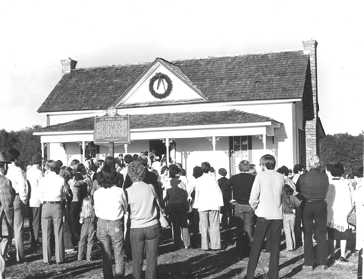 Waddell House Dedication